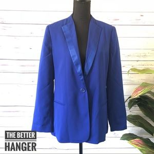WINDSOR • Cobalt Blue Lapel Blazer NWT
